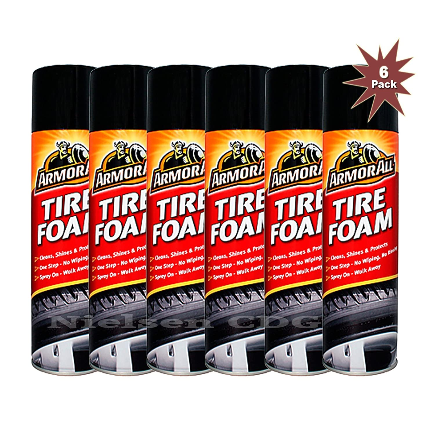 Armor All® Tire Foam Cleaner 6x500ml = 6pk Armor All®