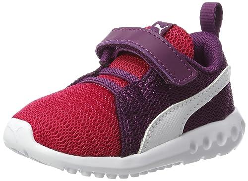 Puma Carson 2 V Inf Sneaker Schuhe Kinder schwarz weiß