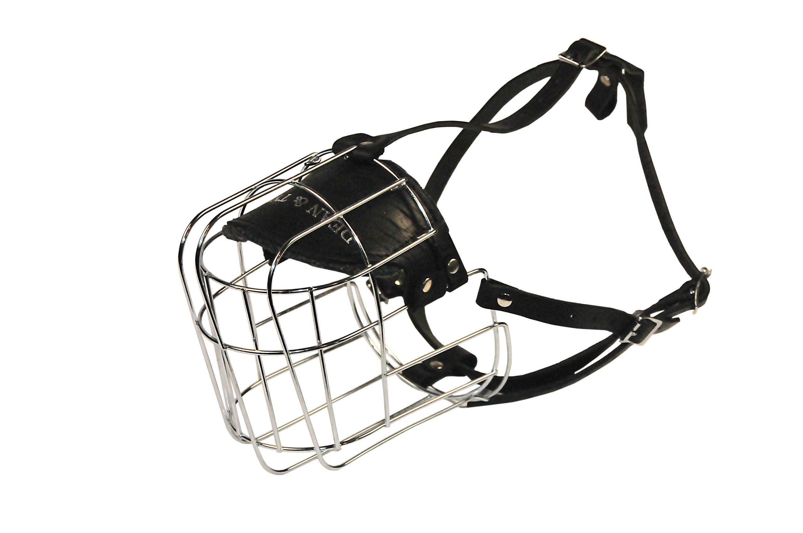 Dean and Tyler Wire Basket Muzzle, Size No. 12 - Saint Bernard