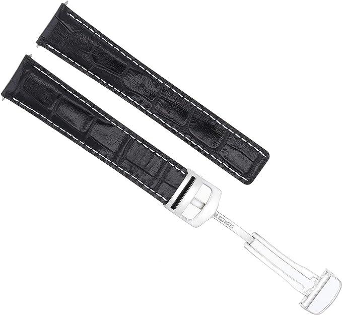 bracelet cuir pour montre cartier tank