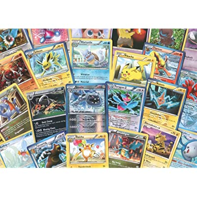 100 Assorted Pokemon Cards with Foils & Bonus Mew Promo! [Toy]: Juguetes y juegos