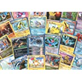100 Assorted Pokemon Cards with Foils & Bonus Mew Promo! [Toy]