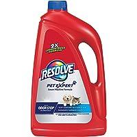 Resolve Pet Steam Carpet Cleaner Solution Shampoo, 96 fl.oz, 2X Concentrate, Safe for Bissell, Hoover & Rug Doctor