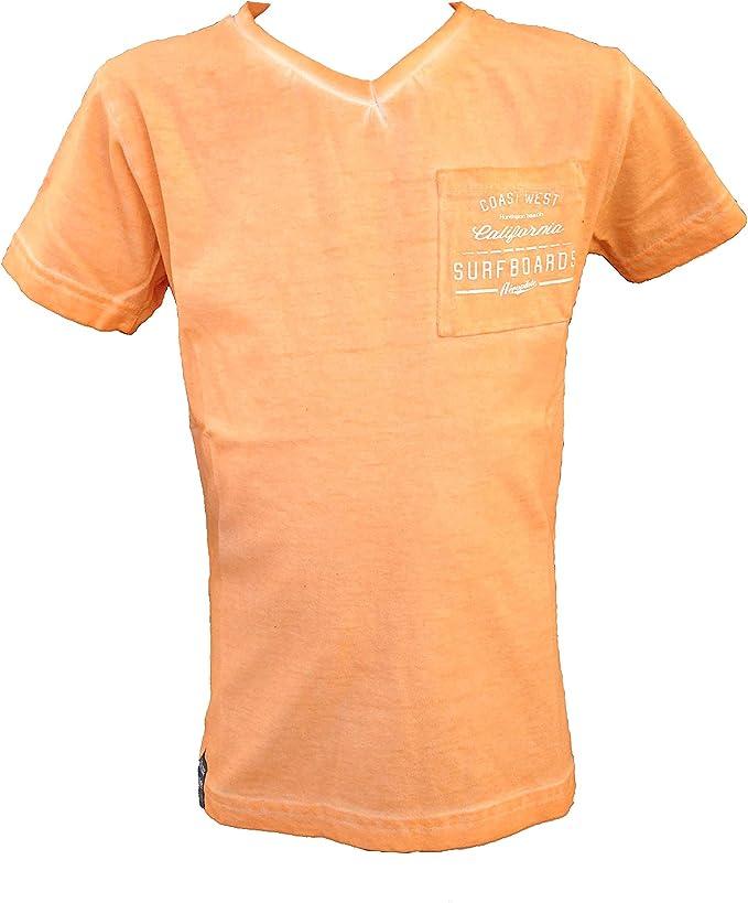 AEROPILOTE - Camiseta de Manga Corta - Básico - Cuello en V - para ...