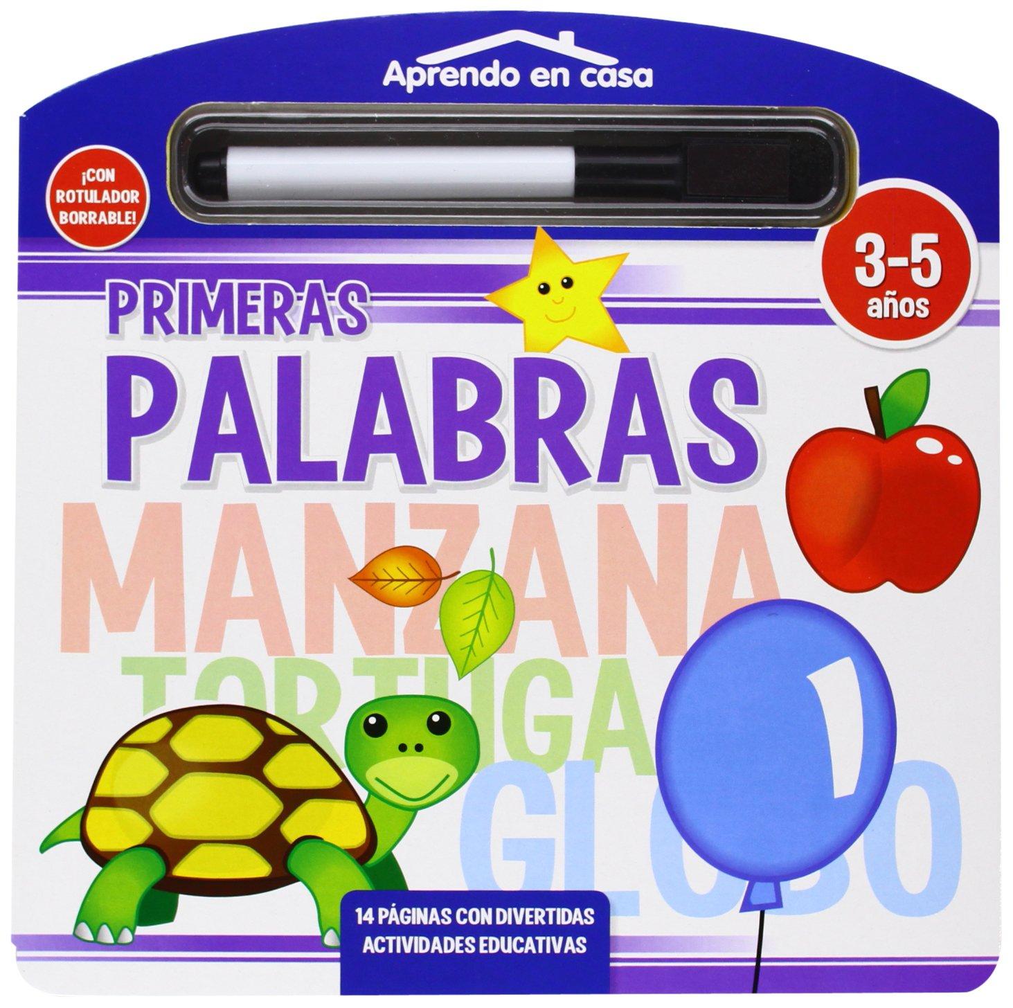 PRIMERAS PALABRAS LIBRO PIZARRA (APRENDO EN CASA): Amazon.es: Vv.Aa.: Libros
