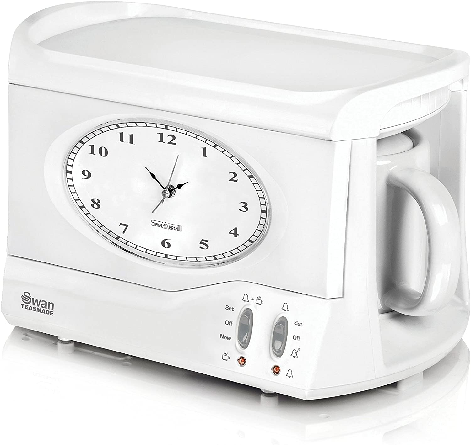 Swan Teasmade. Wake up to a fresh brew and pretend its the 70s all over again.