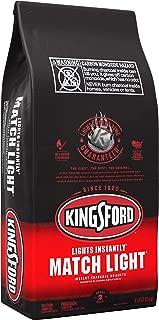 product image for Kingsford 32111 Match Light Charcoal Briquettes, 8 lb, Black