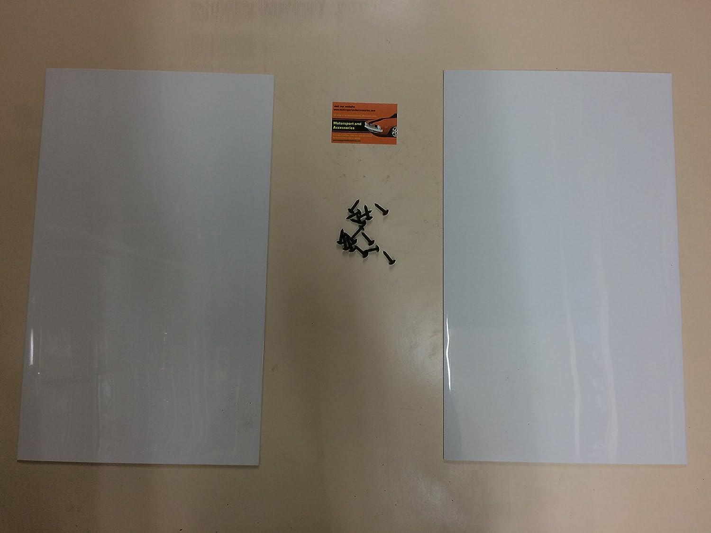 MSA RALLY MUDFLAPS PAIR MUDFLAPS Motorsportandaccessories RALLY MUDFLAPS BLACK 500mm x 300mm 3MM PVC