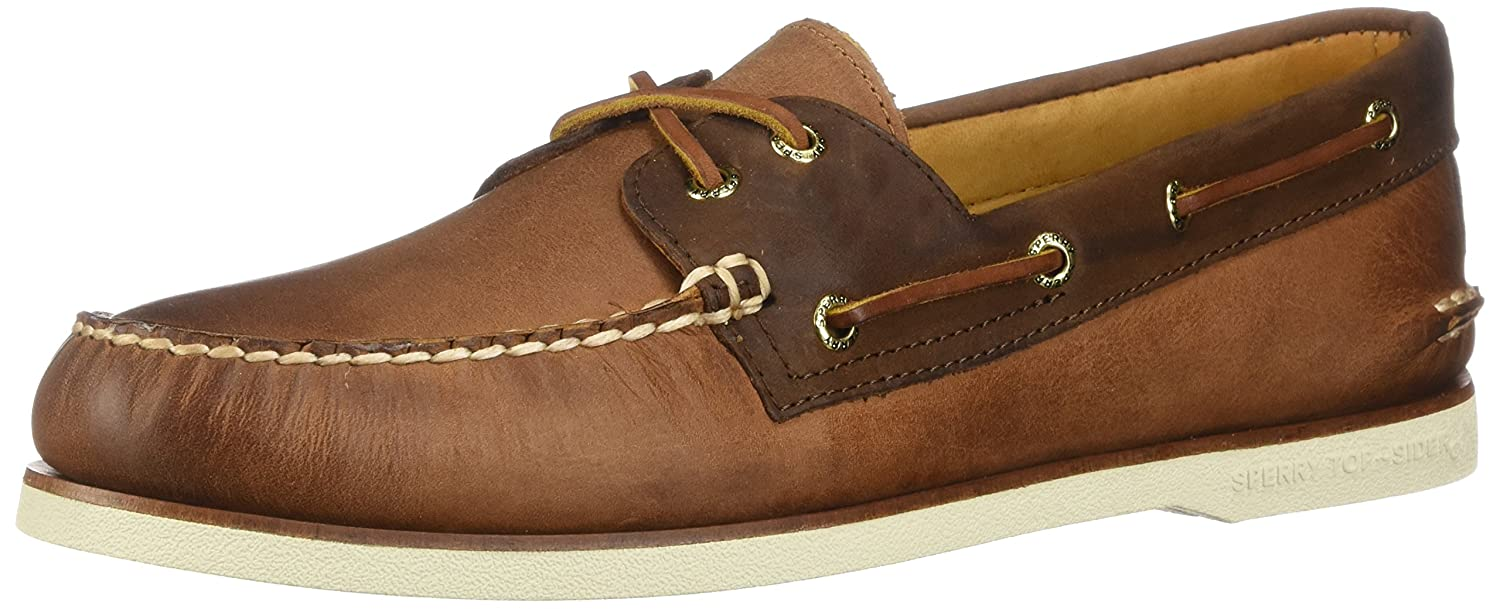 Sperry Top-Sider Men's Gold a/O 2-Eye Roustabout Boat Shoes