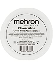 Mehron Makeup Clown White Professional Makeup (2.25 Ounce)