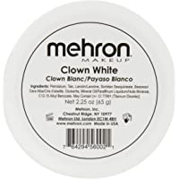 Mehron Makeup Clown White Professional Makeup (2.25 oz)