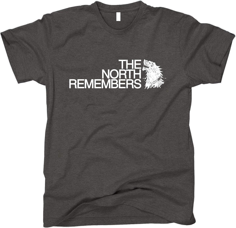 GunShowTees Men's The North Remembers GoT Shirt