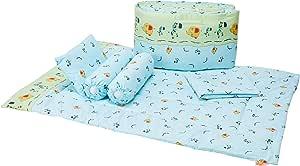 Cheeky Bon Bon 9pc Crib Set, Ellie And Giffy, 4 Each