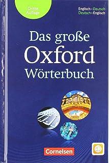 7c0630e37f Das große Oxford Wörterbuch - Third Edition: Wörterbuch mit beigelegtem  Exam Trainer und App: