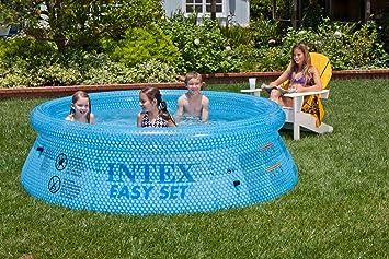 Intex 54910 Easy Set Clearview - Piscina Hinchable (76 x 244 cm) : Amazon.es: Juguetes y juegos