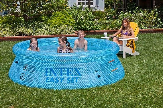 Intex 54910 Easy Set Clearview - Piscina Hinchable (76 x 244 cm)
