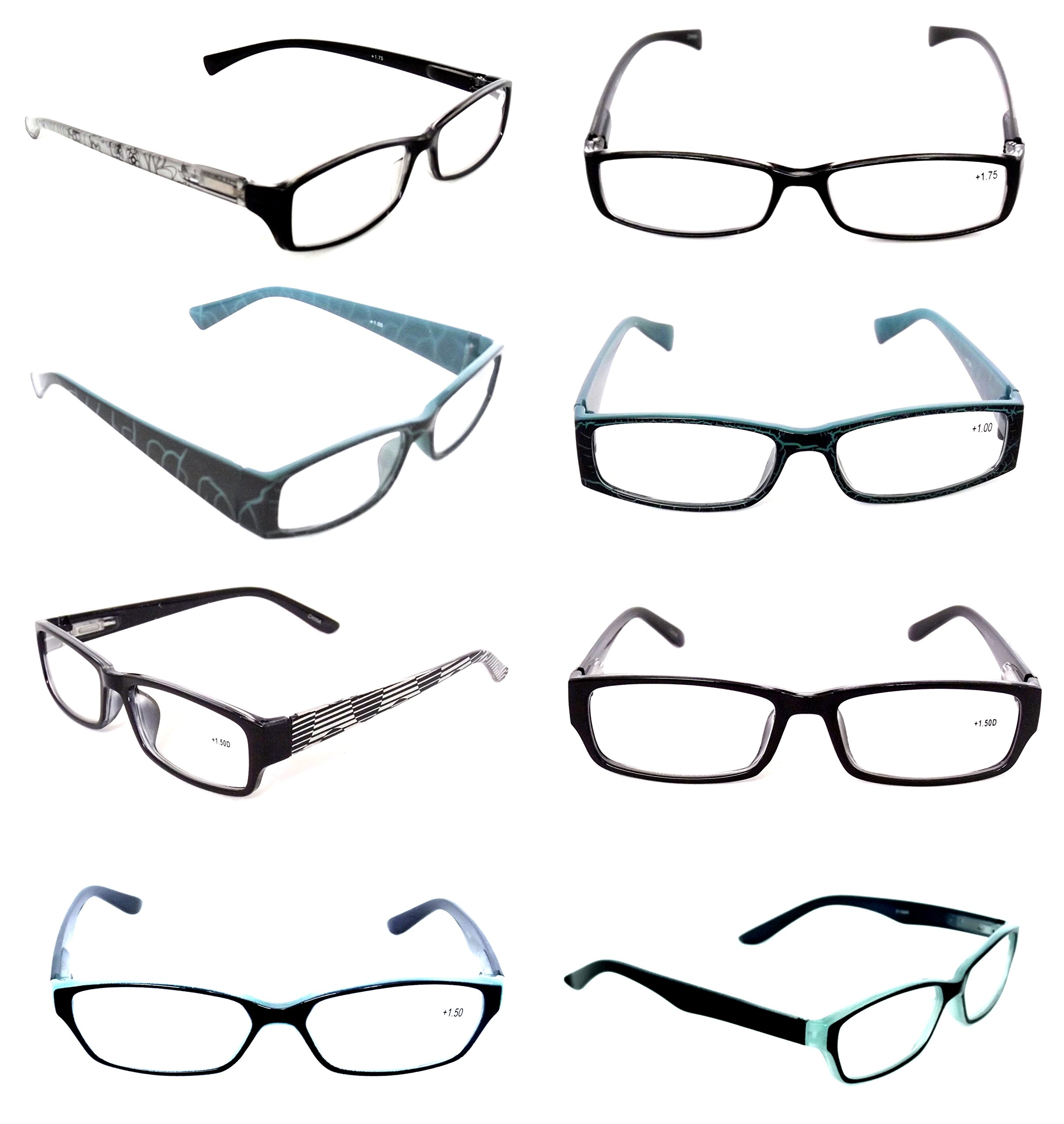 Ladies READING GLASSES Lot 20 Pack Optical Clearance Fashionable ...