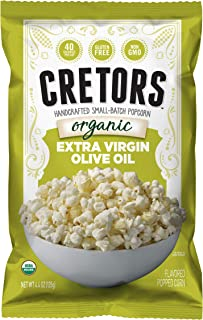 product image for G.H. Cretors Popcorn, Extra Virgin Olive Oil, 52.8 Ounce (Pack of 12)