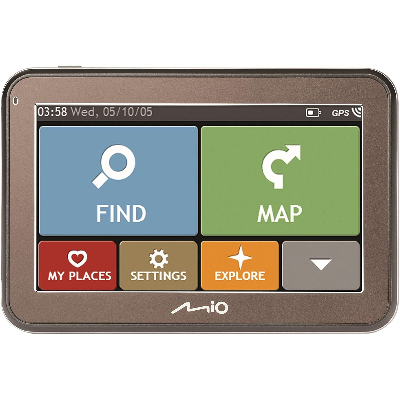 , 480 x 272 Pixeles 5 Navegador GPS Ingl/és, Interno, Toda Europa, 2D//3D, 12,7 cm Mio Spirit 7670 LM Port/átil//Fijo 5 Pantalla t/áctil 158g Oliva navegador