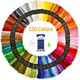 Premium Embroidery Floss 150 Skeins SOLEDI Rainbow Colors Embroidery Thread Cross Stitch Threads for Friendship…