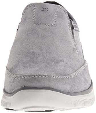 Skechers Herren Slipper Hinton 64492CHAR grau, Gr. 41 48,5 YQ9uV