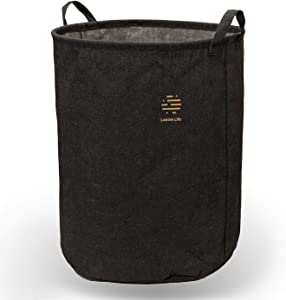 """Lonnie Life Clothes Laundry Hamper,Large Storage Basket,Laundry Basket with Handles Cotton and Linen Hampers,20"""" Tall Collapsible Round Storage Bin,Toy Storage Bin."""