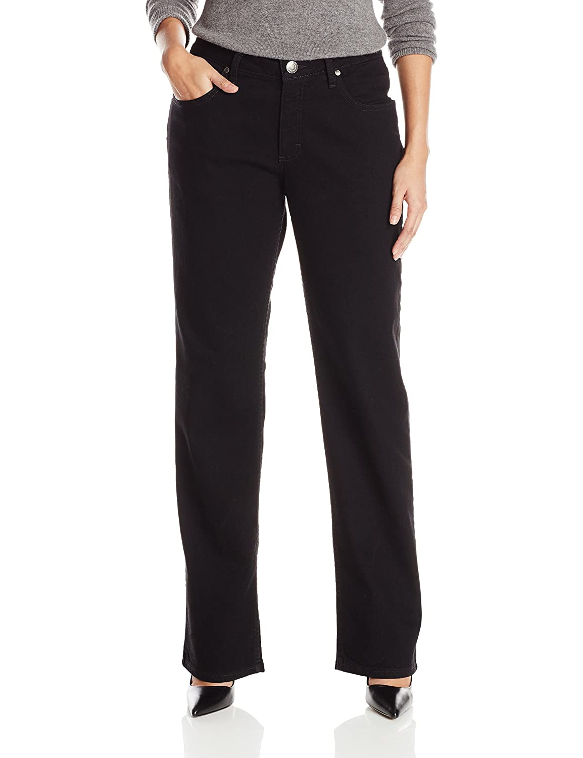 bab92098621 Riders by Lee Indigo Women s Relaxed Fit Straight Leg Jean at Amazon  Women s Jeans store