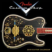 Fender Custom Shop Guitar 2019 Calendar