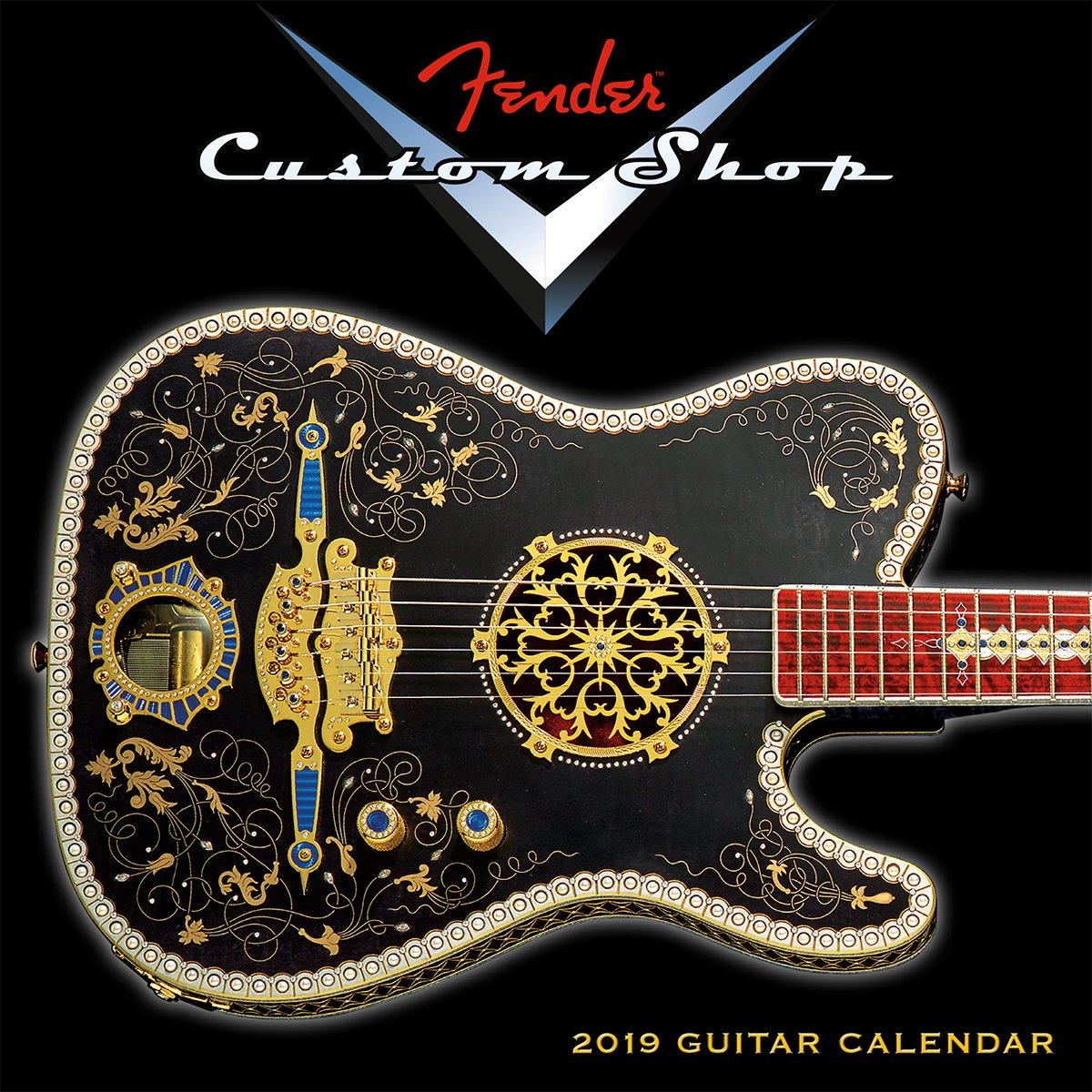 2019 FenderCustom Shop Guitar Mini Calendar: by Sellers Publishing, 7x7 (CS-0464) Calendar – Mini Calendar, Aug 15 2018 Fender Guitar Inc. 1531904645 /