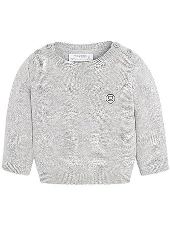 e19f89e97f23 Mayoral 18-00330-030 - Basic Sweater for Baby-Boys 6-9 Months Moon   Amazon.co.uk  Clothing
