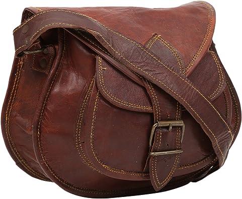 real leather vintage purse sling Handmade ladies satchel brown women/'s nice bag