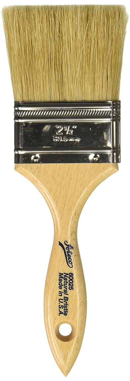 Ateco 62000 Pastry Brush, 1 1/16-Inch Diameter Head with Black Boar Bristles, Stainless Steel Ferrule & Wood Handle