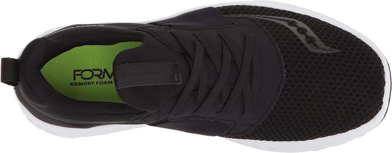 Saucony Women's Stretch & GO Breeze Road Running Shoe Black