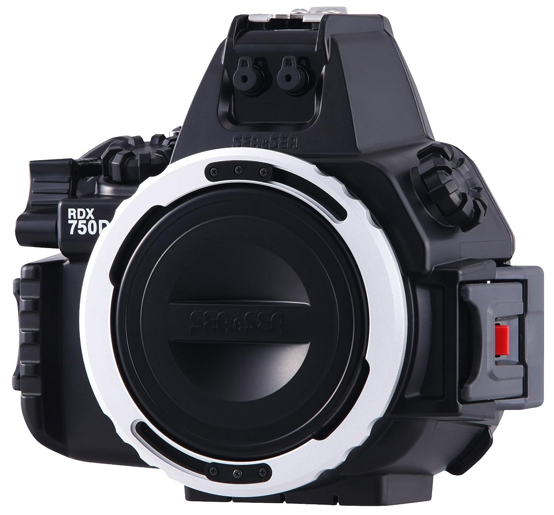 Amazon.com: Mar y mar rdx-750d Vivienda para Canon Rebel T6i ...
