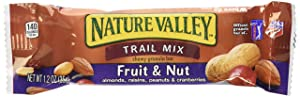 Nature Valley Chewy Trail Mix Fruit and Nut Bars Forty-Eight 1.2 Ounce bars