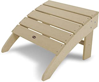 product image for POLYWOOD SBO22SA South Beach Adirondack Ottoman, Sand