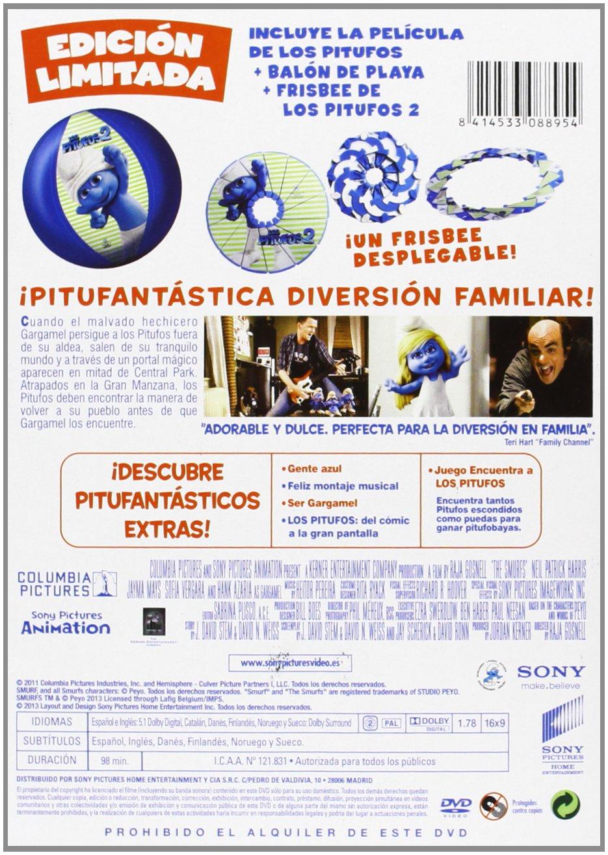 Los Pitufos (Balón / Frisbee Pitufos 2) [DVD]: Amazon.es ...