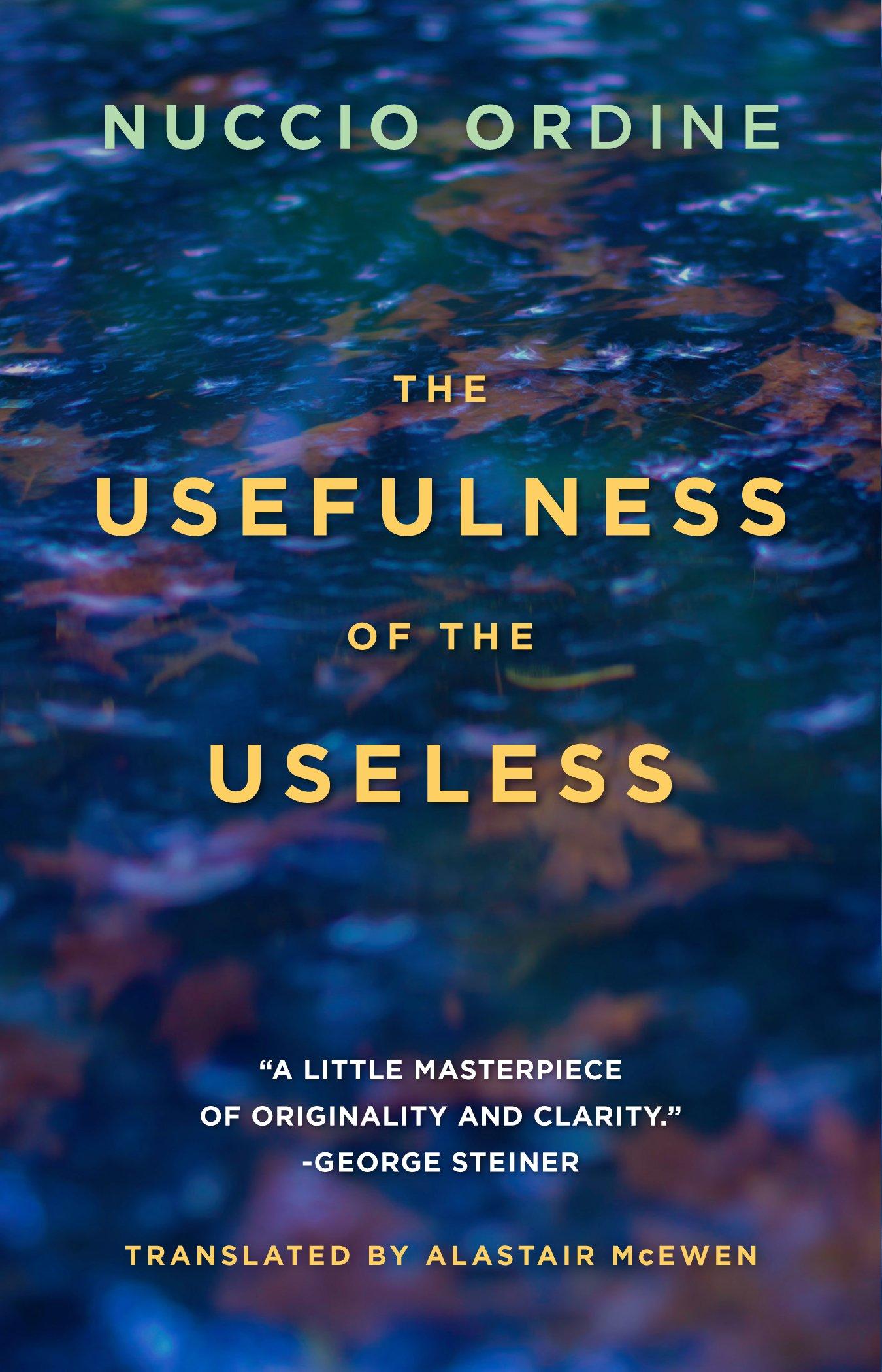 The Usefulness of the Useless: Amazon.es: Nuccio Ordine, Abraham ...