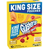 Betty Crocker Fruit Snacks Gushers Flavor Mixers, 10 Count (Pack of 6)
