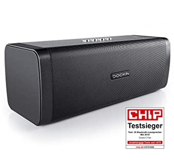 DOCKIN D Fine Stereo Hi FI HD Enceintes Portables Haut Parleur Bluetooth
