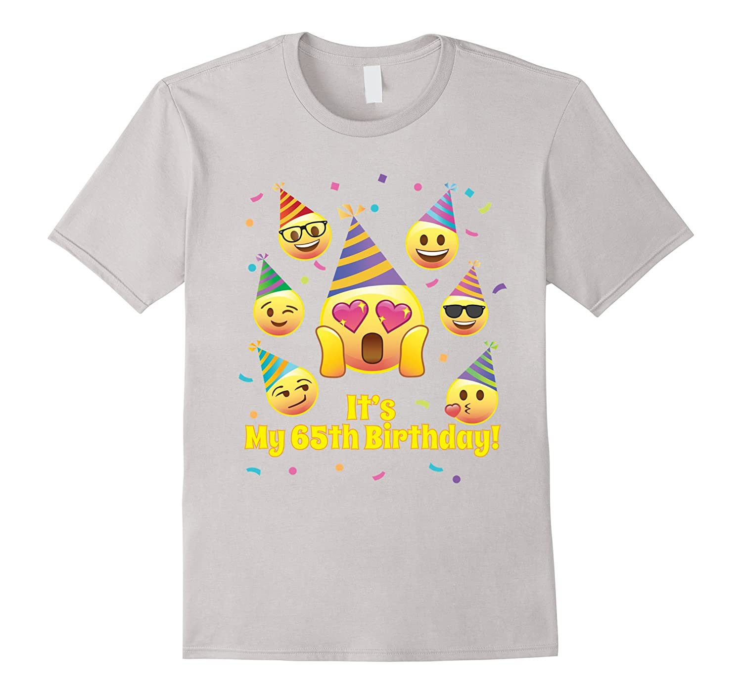 Emoji 65th Its My Birthday Shirt