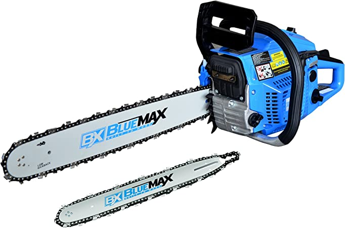 CASE Blue Max Gas Chainsaw Combo 2-In-1 20 in 14 in 45cc Anti-vibration Handle