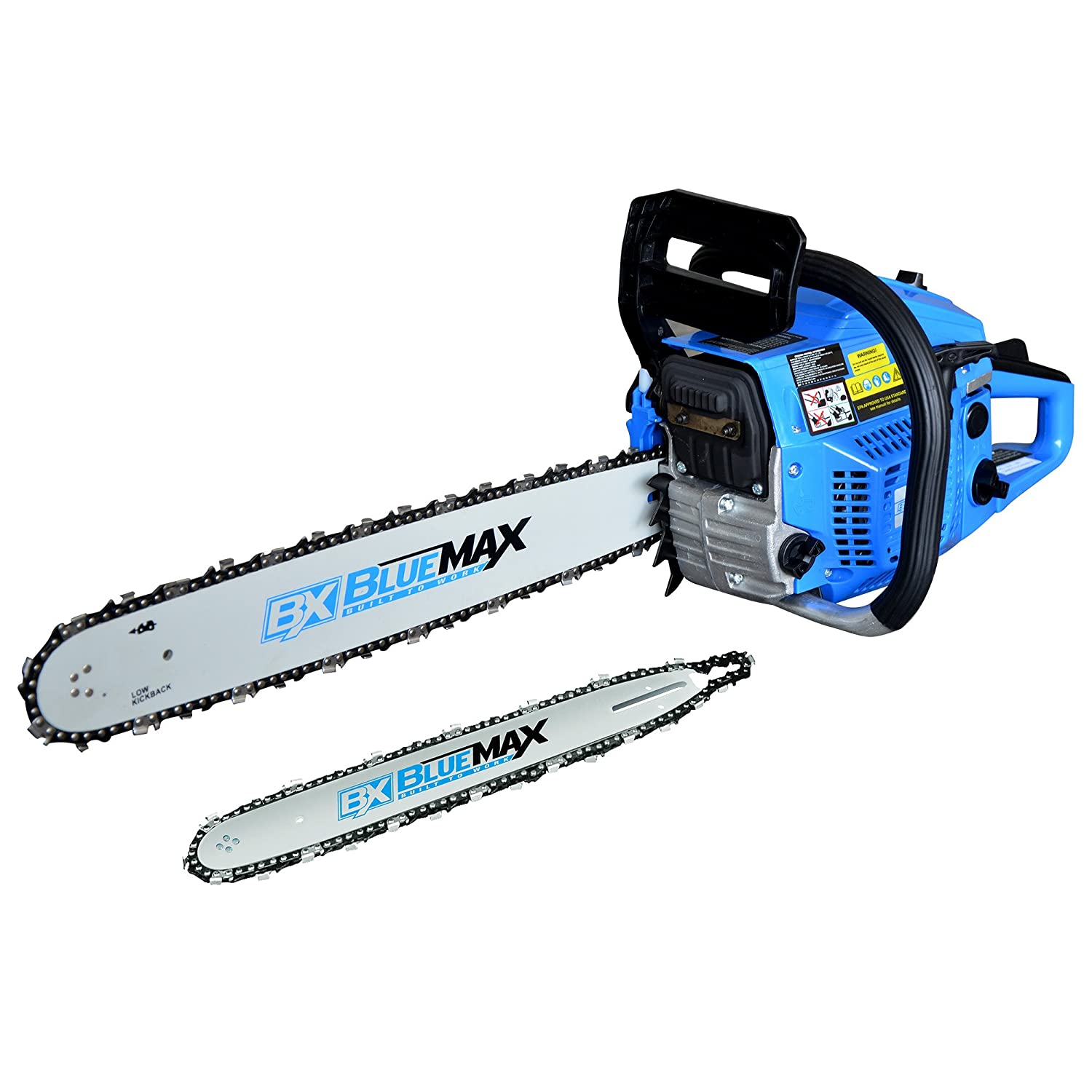 Blue Max 8901 2-in-1 14-Inch/20-Inch Combination Chainsaw in 4 Color Carton Homier Distributing