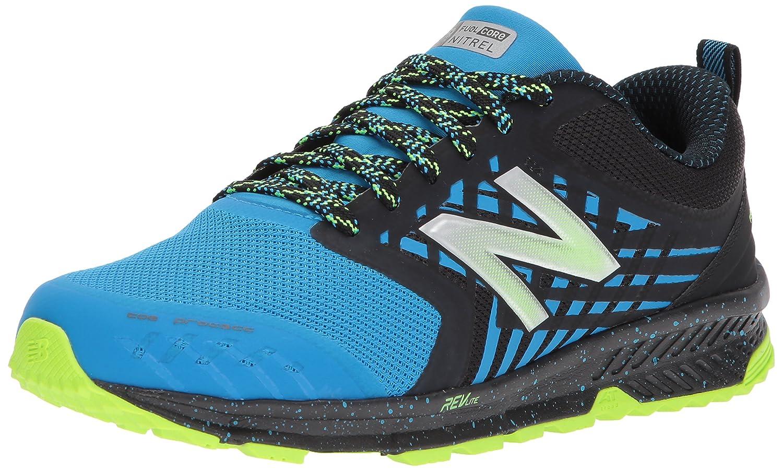 New Balance Nitrel, Zapatillas de Running para Hombre 43 EU Negro (Black/Blue)