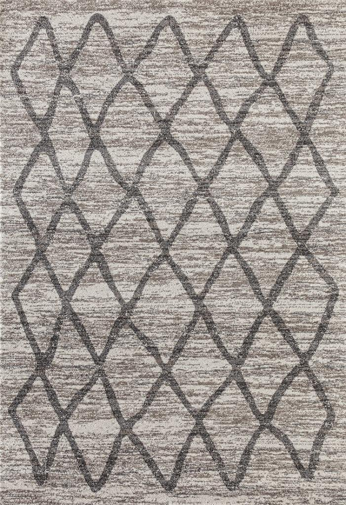 Dara 4105 Ivory Modern 8 x 10 Area Rug Carpet Large New