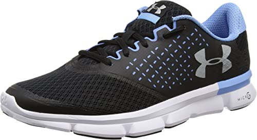 Under Armour Micro  Men women Black Running Road Sports Shoes Trainers