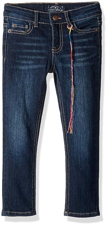Lucky Brand Toddler Girls' Zoe Denim Jean, Barrier wash, 4T/4 best toddler jeans