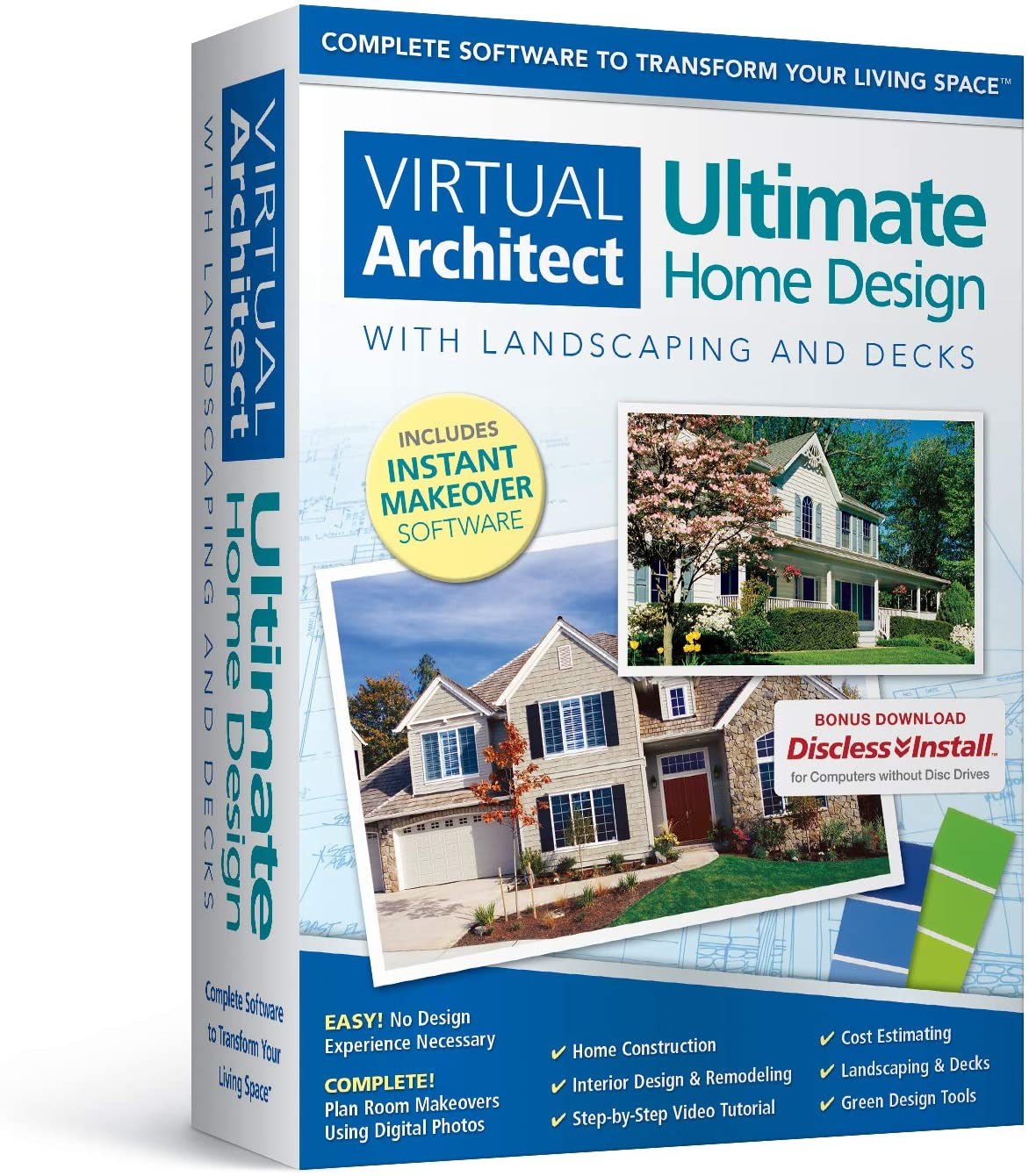 Amazon Com Virtual Architect Ultimate Home Design With Landscaping And Decks 8 0