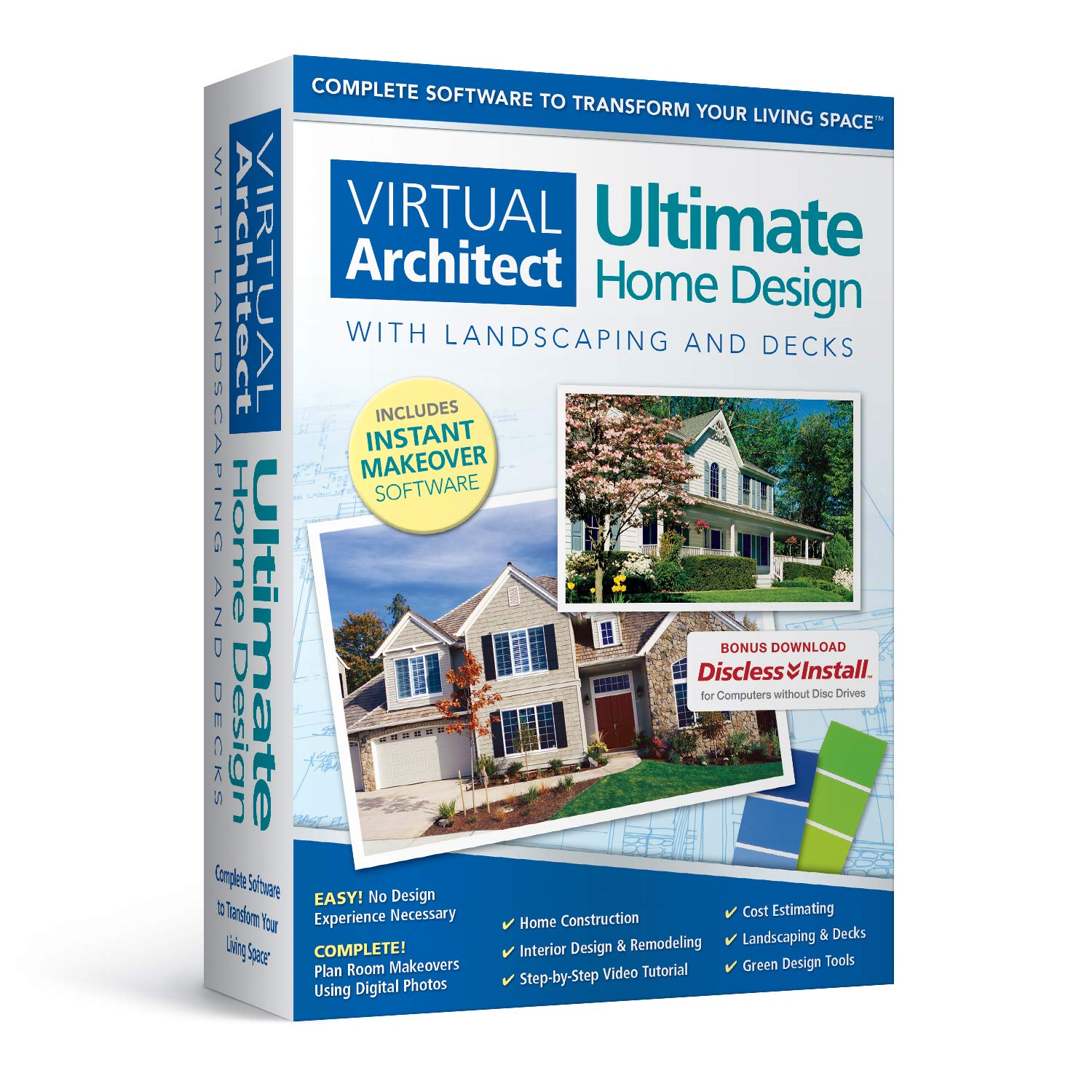 Virtual Architect Ultimate Home Design with Landscaping and Decks 8.0 by Nova Development US