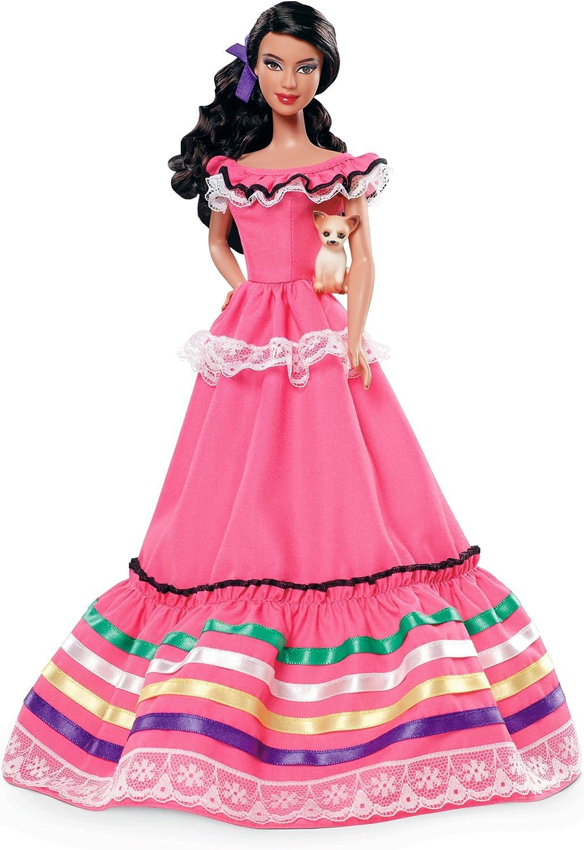 Amazon.es: Barbie - Muñecas del Mundo: México (Mattel W3374 ...